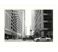 DownTown- Mid Day Art Print