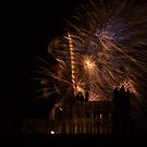 Fireworks at the Abbey. by Coyroy