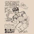 Daniel Johnston - Captain America & Casper by Snufkin