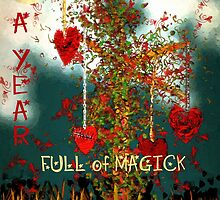 A Year Full of Magick by RC deWinter