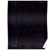 USGS Topo Map Oregon Chimney Rock 279341 1971 24000 Inverted Poster