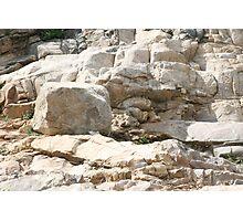 Rock Sculptures Photographic Print