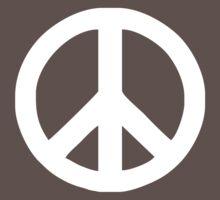 Peace Sign Love Symbol Car Window Bumper Hippie Kids Clothes