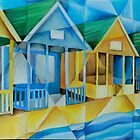 Southwold Beach Huts by tiffanybudd