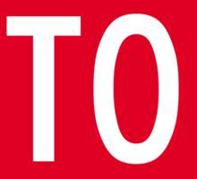 Stop Sign Die Cut Sticker Sticker