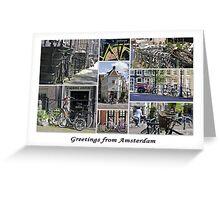 Bikes, Bikes, Bikes Greeting Card