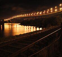 The Foyle (new) Bridge, Derry by Sarah Cowan