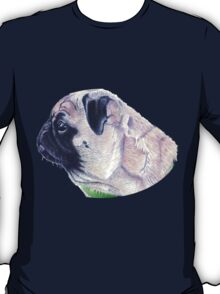 Pug Portrait T-shirt or Hoodie T-Shirt