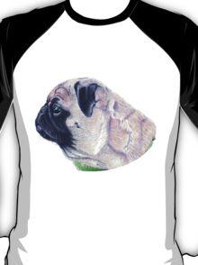 Pug Portrait T-shirt or Hoodie T-Shirt