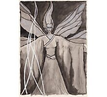 Moth Girl Photographic Print