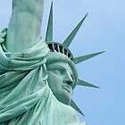 Lady Liberty up close and personal... by Misti Hymas