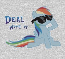 My Little Pony - MLP - Rainbow Dash - Deal With It One Piece - Long Sleeve