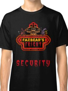 Five Nights at Freddy's - FNAF 3 - Fazbear's Fright Security Classic T-Shirt