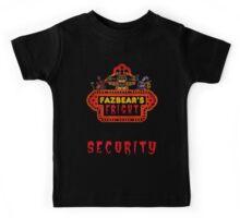 Five Nights at Freddy's - FNAF 3 - Fazbear's Fright Security Kids Tee