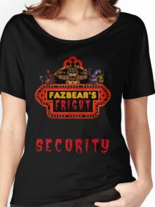 Five Nights at Freddy's - FNAF 3 - Fazbear's Fright Security Women's Relaxed Fit T-Shirt