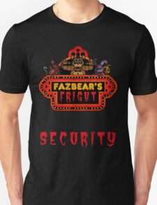 Five Nights at Freddy's - FNAF 3 - Fazbear's Fright Security Unisex T-Shirt