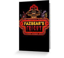 Five Nights at Freddy's - FNAF 3 - Fazbear's Fright Greeting Card