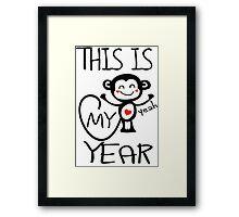 Ths is my year Framed Print