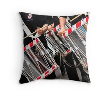 Drum Reflections Throw Pillow