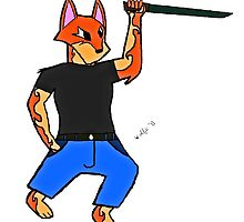 sword wolf - stealth killer by lolzwolfs