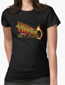 Back to the future day variant Womens Fitted T-Shirt