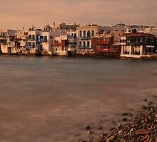 Little Venice, Mykonos by Peter Hammer