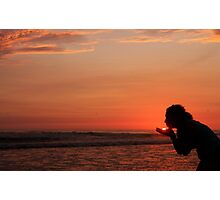 s'cuse me while i kiss the sun, iv Photographic Print