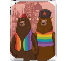 Bears boyfriends iPad Case/Skin