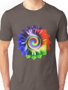 Tie Dyed Flower Unisex T-Shirt