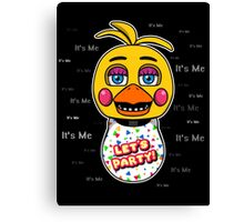 Five Nights at Freddy's - FNAF 2 - Toy Chica - It's Me Canvas Print