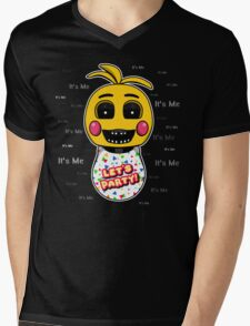 Five Nights at Freddy's - FNAF 2 - Toy Chica - It's Me Mens V-Neck T-Shirt