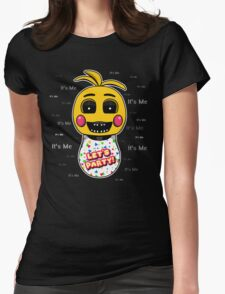 Five Nights at Freddy's - FNAF 2 - Toy Chica - It's Me Womens Fitted T-Shirt