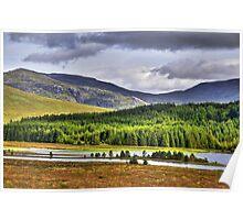 Across Loch Laggan Poster