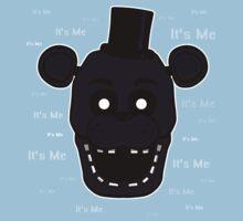 Five Nights at Freddy's - FNAF 2 - Shadow Freddy - It's Me Kids Tee