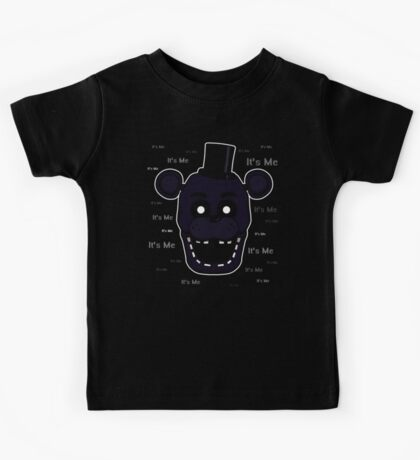 Five Nights at Freddy's - FNAF 2 - Shadow Freddy - It's Me Kids Tee