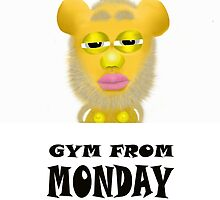Gym From Monday by Kirti07