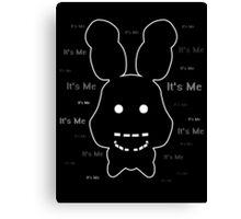 Five Nights at Freddy's - FNAF 2 - Shadow Bonnie - It's Me Canvas Print