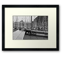 Exhausted Framed Print