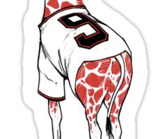 Keep Belt Awkward Giraffe Sticker