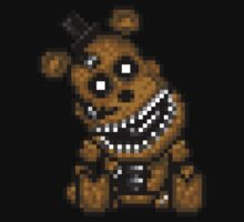 Five Nights at Freddys 4 - Mini Freddy - Pixel art Baby Tee