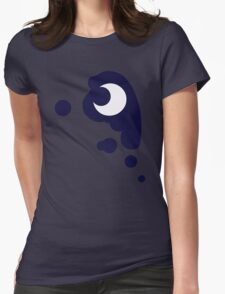 Luna Cutie Mark Womens Fitted T-Shirt