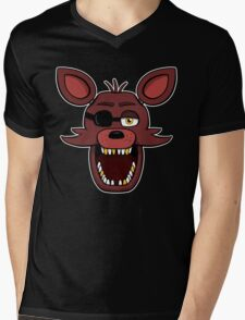 Five Nights at Freddy's - FNAF - Foxy  Mens V-Neck T-Shirt