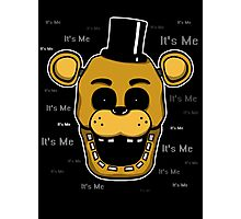 Five Nights at Freddy's - FNAF - Golden Freddy - It's Me Photographic Print