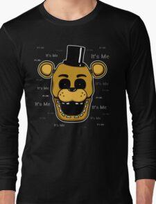 Five Nights at Freddy's - FNAF - Golden Freddy - It's Me Long Sleeve T-Shirt
