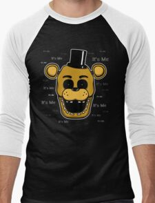 Five Nights at Freddy's - FNAF - Golden Freddy - It's Me Men's Baseball ¾ T-Shirt