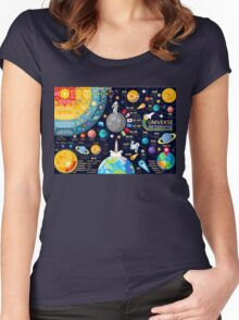 Universe Concepts Infographics Women's Fitted Scoop T-Shirt