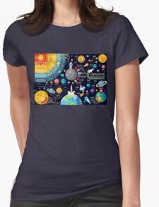 Universe Concepts Infographics Womens Fitted T-Shirt