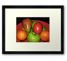 Fruit Medley Framed Print