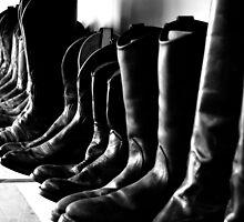 Black Boots  by DearMsWildOne