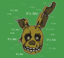 Five Nights at Freddy's - FNAF 3 - Springtrap - It's Me Kids Tee